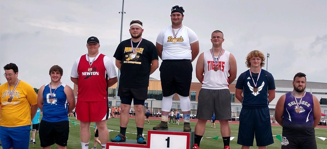 2018 STATE CHAMPION SHOT PUT