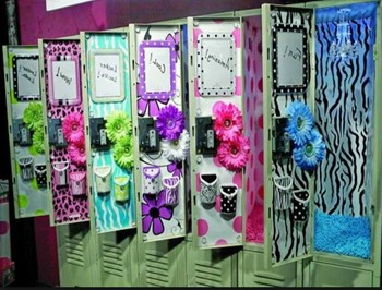 Locker Decorating Information