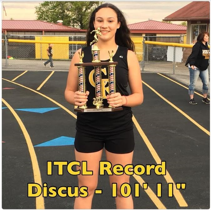 Krista Perry: MS Discus Record Holder
