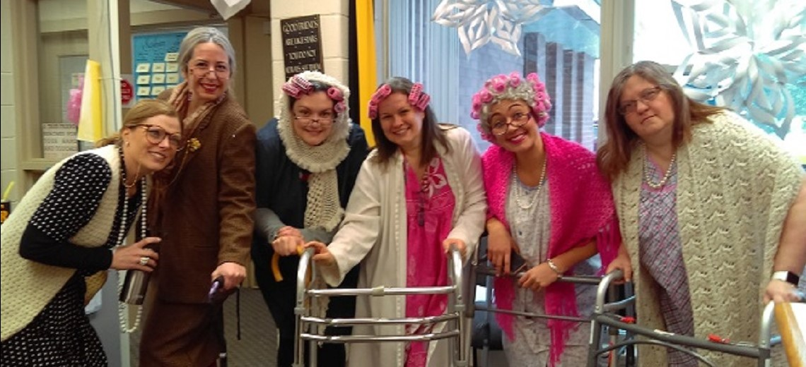 Kindergarten Teachers on 100th Day!